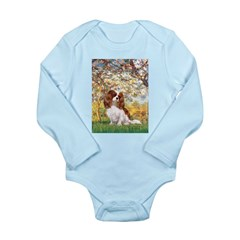 Spring & Cavalier Long Sleeve Infant Bodysuit