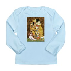 The Kiss & Cavalier Long Sleeve Infant T-Shirt