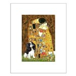 The Kiss & Tri Cavalier Small Poster