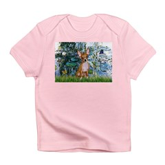 Lilies & Chihuahua Infant T-Shirt