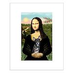 Mona Lisa / Chihuahua Small Poster