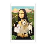 Mona / 3 Chihs Mini Poster Print
