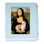 Mona/Puff baby blanket