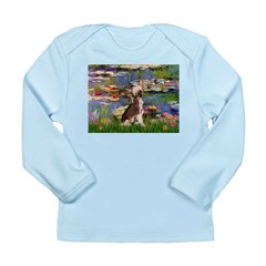 Lilies / C Crested(HL) Long Sleeve Infant T-Shirt