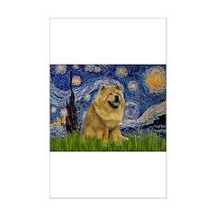 Starry / Chow #! Mini Poster Print