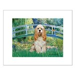 Bridge / Cocker Spaniel (buff) Small Poster