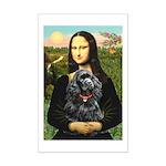 Mona's Black Cocker Spaniel Mini Poster Print