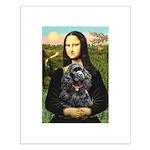 Mona's Black Cocker Spaniel Small Poster