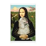 Mona Lisa /Cocker Spaniel Mini Poster Print
