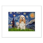 Spring /Cocker Spaniel (buff) Small Poster