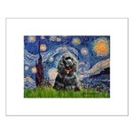 Starry Night / Black Cocke Small Poster