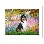 Garden / Collie Small Poster