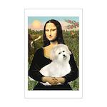 Mona's Coton de Tulear Mini Poster Print