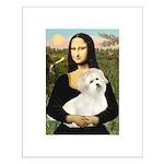 Mona's Coton de Tulear Small Poster