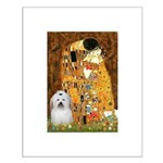 The Kiss / Coton Small Poster