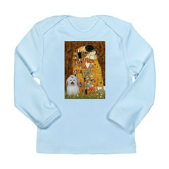 The Kiss / Coton Long Sleeve Infant T-Shirt