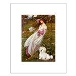 Windflowers / Coton Small Poster