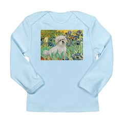 Irises / Coton Long Sleeve Infant T-Shirt