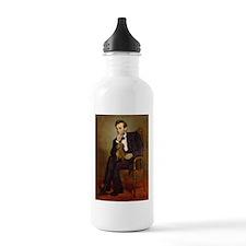 Lincoln's Dachshund Sports Water Bottle