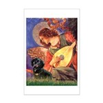 Mandolin Angel & Doxie (BT) Mini Poster Print