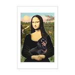 Mona's Dachshund Mini Poster Print