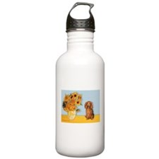 Sunflowers - Doxie (LH,S) Water Bottle