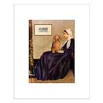 Whistler's /Dachshund(LH-Sabl) Small Poster