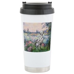 Seine / Dalmatian #1 Ceramic Travel Mug
