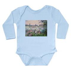 Seine / Dalmatian #1 Long Sleeve Infant Bodysuit