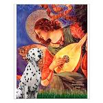 Mandolin / Dalmatian #1 Small Poster