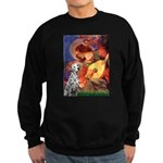 Mandolin / Dalmatian #1 Sweatshirt (dark)