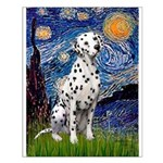 Starry / Dalmatian #1 Small Poster