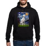 Starry / Dalmatian #1 Hoodie (dark)