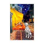 Cafe / Dalmatian #1 Mini Poster Print