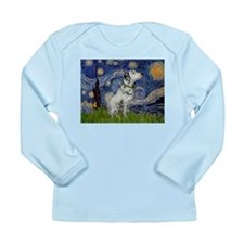Starry Night / Dalmation Long Sleeve Infant T-Shir