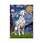 Starry /Dalmatian Mini Poster Print