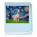 Starry /Dalmatian baby blanket