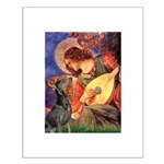 Mandolin Angel & Dobie Small Poster