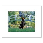 Bridge / Doberman Small Poster