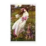 Windflowers / Dobie (#8) Mini Poster Print