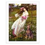 Windflowers / Dobie (#8) Small Poster
