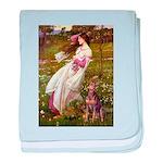 Windflowers / Dobie (#8) baby blanket