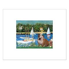 Sailboats /English Bulldog Posters