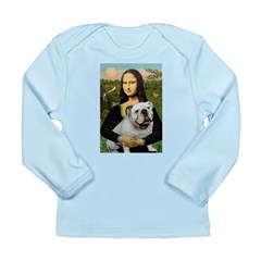 Mona's English Bulldog Long Sleeve Infant T-Shirt
