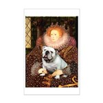 The Queen's English BUlldog Mini Poster Print