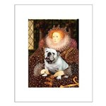 The Queen's English BUlldog Small Poster