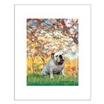 Spring/ English Bulldog (#9) Small Poster