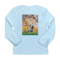 Spring/ English Bulldog (#9) Long Sleeve Infant T-