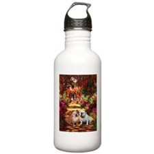 The Path / Two English Bulldogs Water Bottle