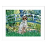 Bridge / English Setter Small Poster